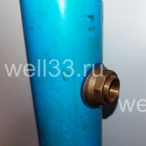 Скважинный адаптер для ввода воды в дом