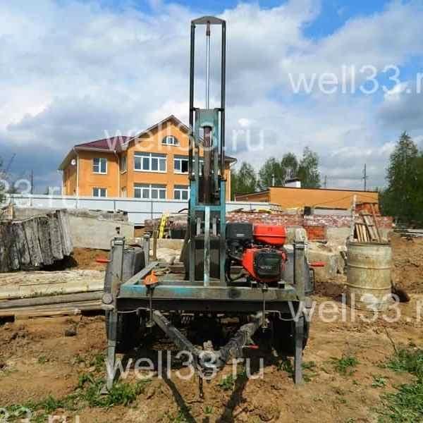 Бурение скважин малогабаритными установками во Владимирской области