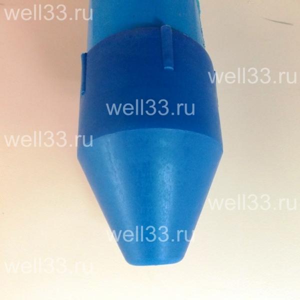 Скважина на воду - пластиковая пробка от заиливания