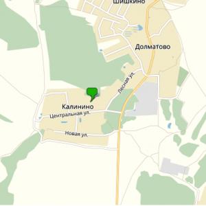 Бурение скважин на воду в деревне Калинино