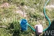 Бурение скважины на воду с обсадной трубой диаметром 125