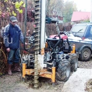 Шнековое бурение скважин на воду во Владимирской области