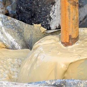 Бурение скважин под воду с помощью воды