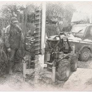 Бурение скважин на воду в Александрове малогабаритными установками
