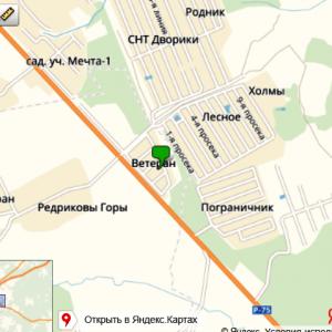 Бурение скважин для воды в СНТ Ветеран